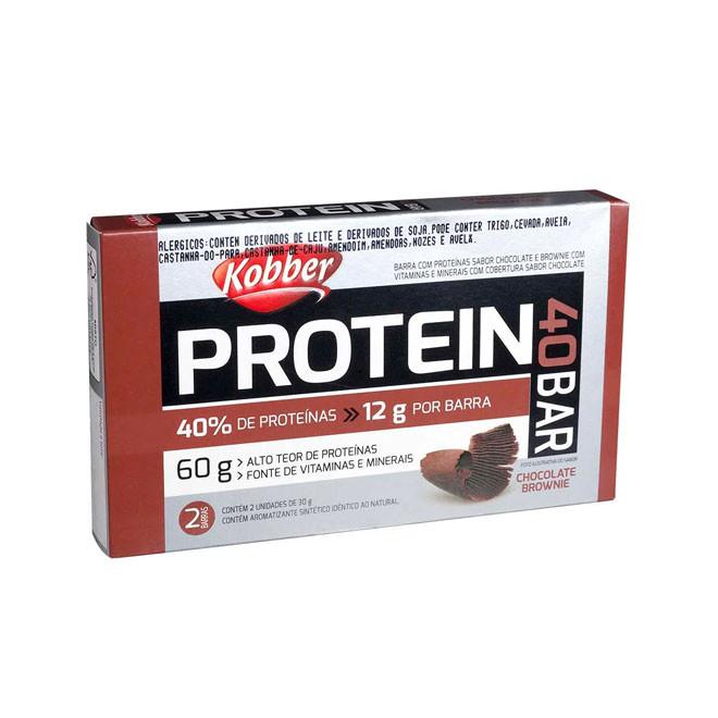 Barra Protein (30g Cada) CX c/ 12 Unidades - Kobber