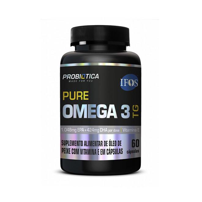 Pure Ômega 3 TG (60 Caps) - Probiotica