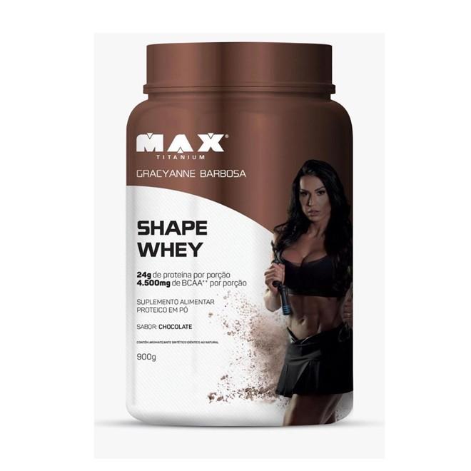 Shape Whey 900g - Max Titanium