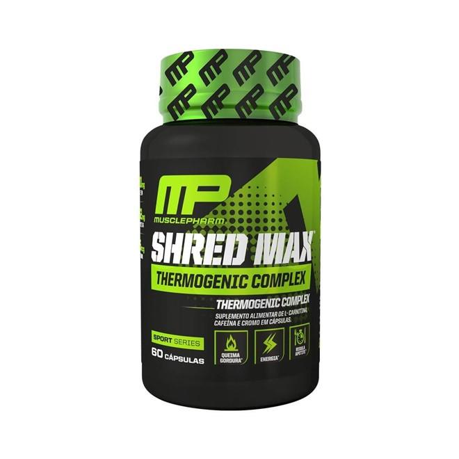 Termogenico Shred Max (60 caps) – Muscle – Pharma