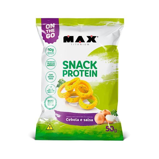 Snack Protein Cebola e Salsa 50g - Max Titanium