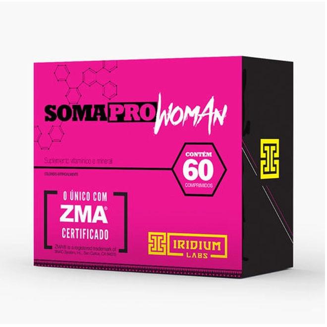 Soma Pro Woman ZMA Pré Hormonal (60 Comprimidos) - Iridium Labs