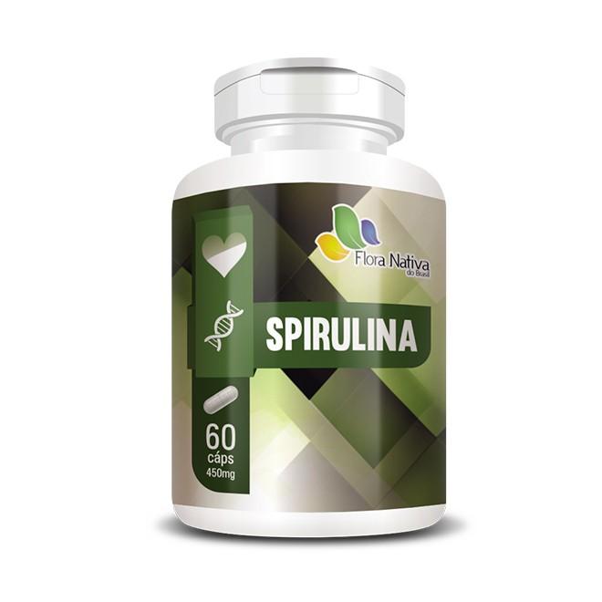 Spirulina 500mg 60 cápsulas - Flora Nativa