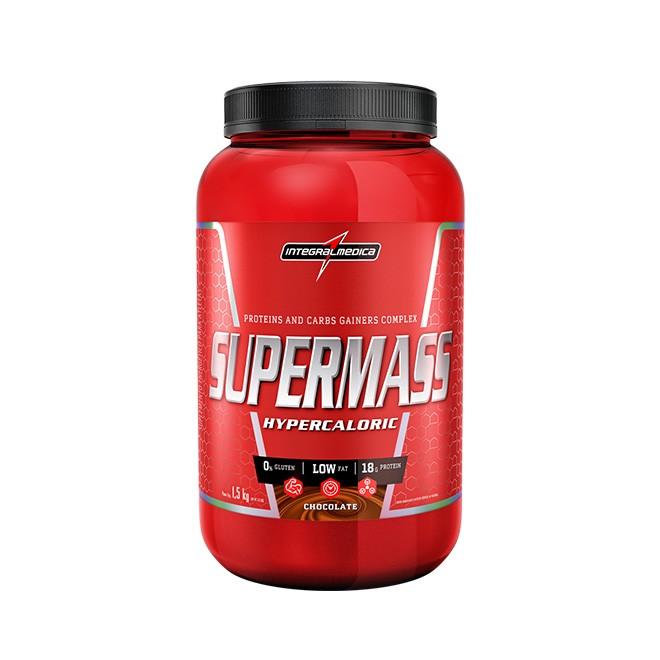 Super Mass 1,5kg Baunilha - Integralmedica