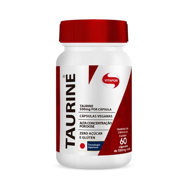 Taurina 60 Cápsulas - Vitafor