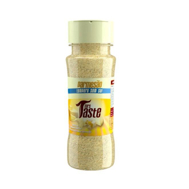 Tempero Zero Sódio Parmesão 55g - Mrs Taste