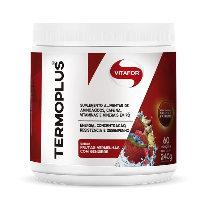 TermoPlus 240g Frutas Vermelhas com Gengibre - Vitafor