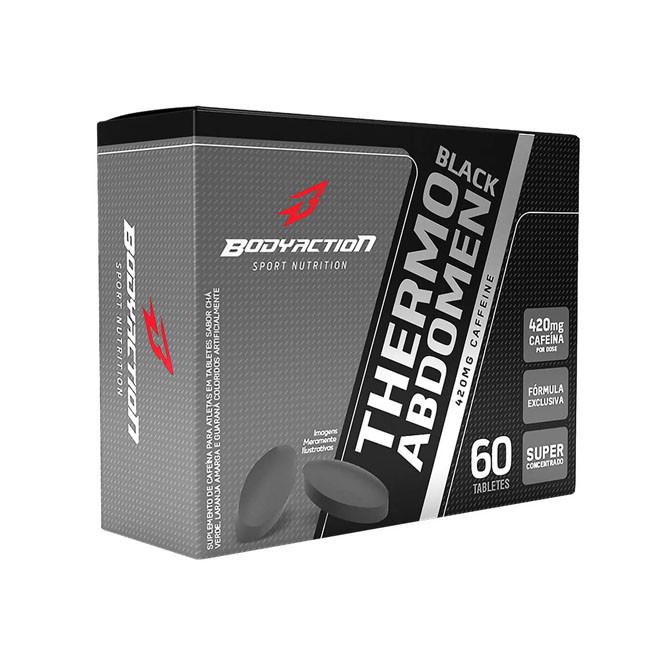 Thermo Abdomen Black Blister 60 Comprimidos - Body Action