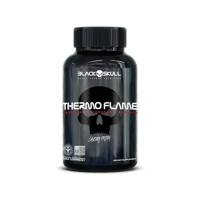 Thermo Flame Hardcore (60 Caps) - Black Slkull