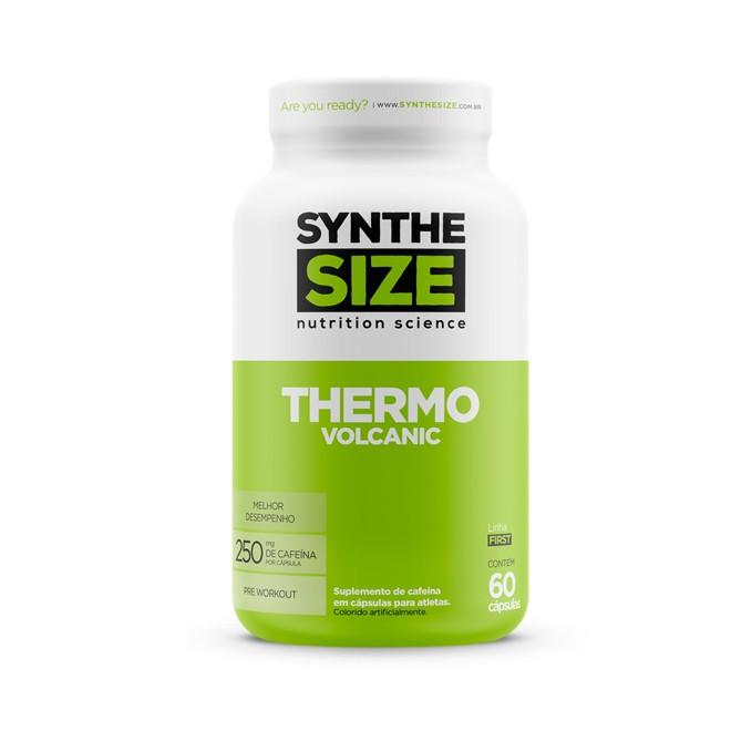Caffeine Volcanic 60 Cápsulas - Synthesize