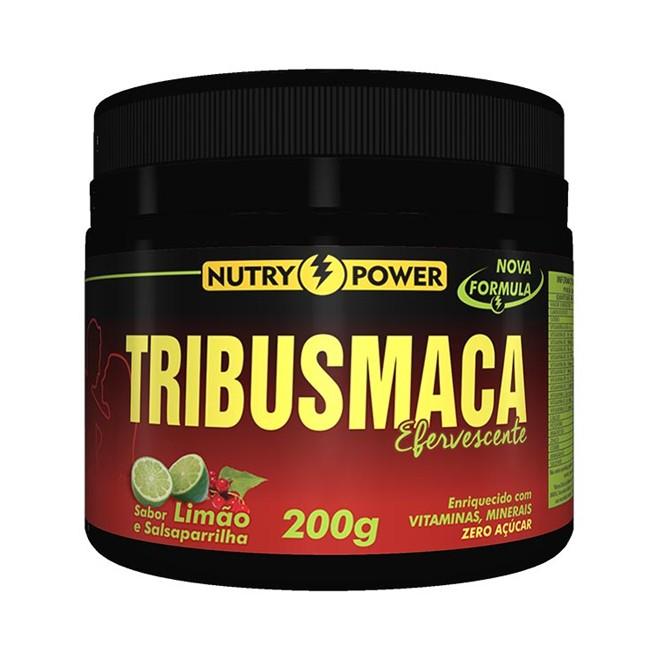 Tribus Maca Efervescente 200g (Limão) - Nutry Power Apsinutri