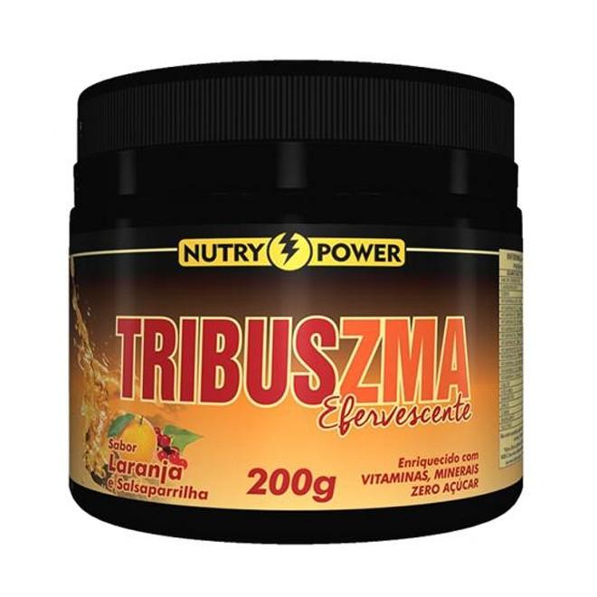 Tribus ZMA Efervescente 200g (Laranja) - Nutry Power Apsinutri