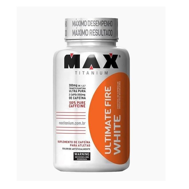 Ultimate Fire White 60 Cápsulas - Max Titanium