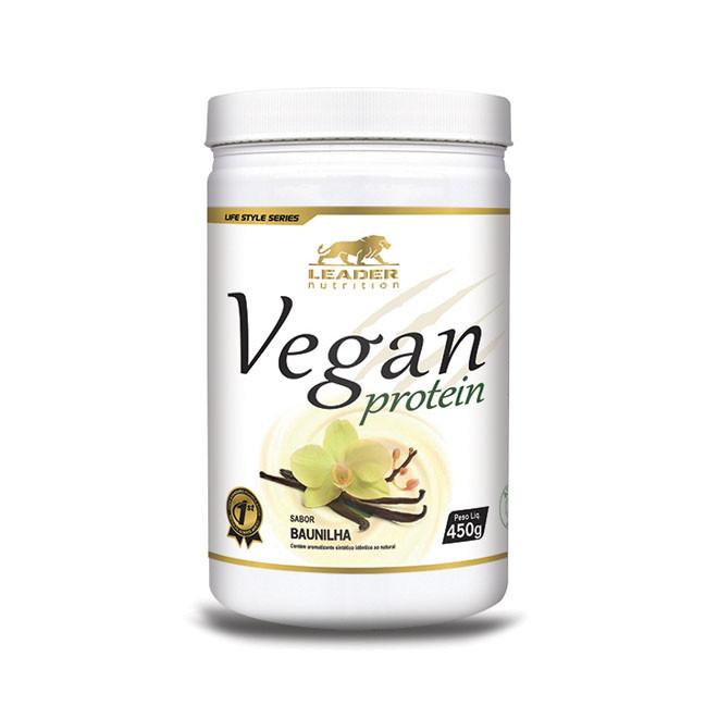 VEGAN PROTEIN (450g) - Leader Nutrition VEGAN PROTEIN (450g) - Leader Nutrition