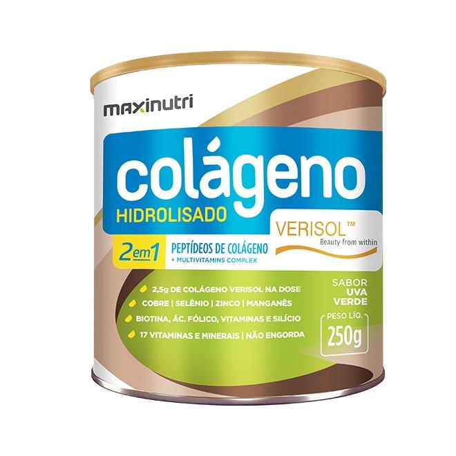 Colágeno Hidrolisado 2 em 1 Verisol® 250g - Maxinutri