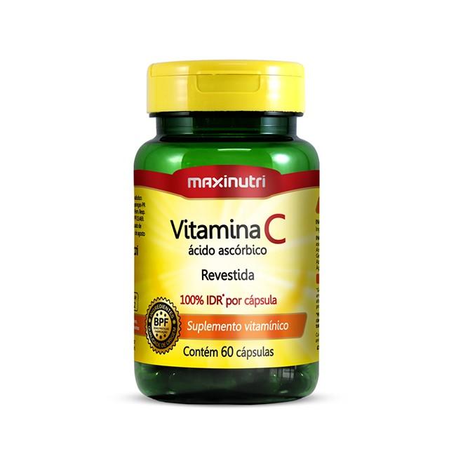 Vitamina C 60 Cápsulas - Maxinutri