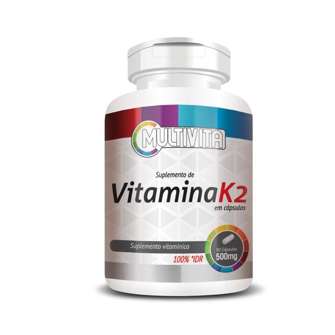 Vitamina K2 (60 Cápsulas) - Flora Nativa