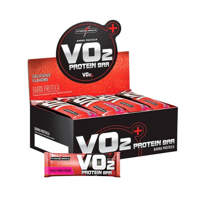 Vo2 Protein Bar CX c/ 24un Chocolate - Integralmedica