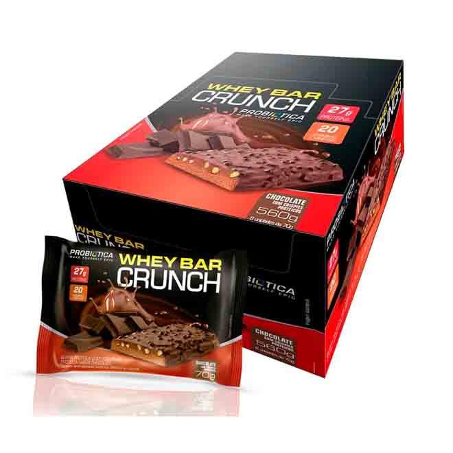 Cream Crunch Caixa c/ 8 Und - Probiotica