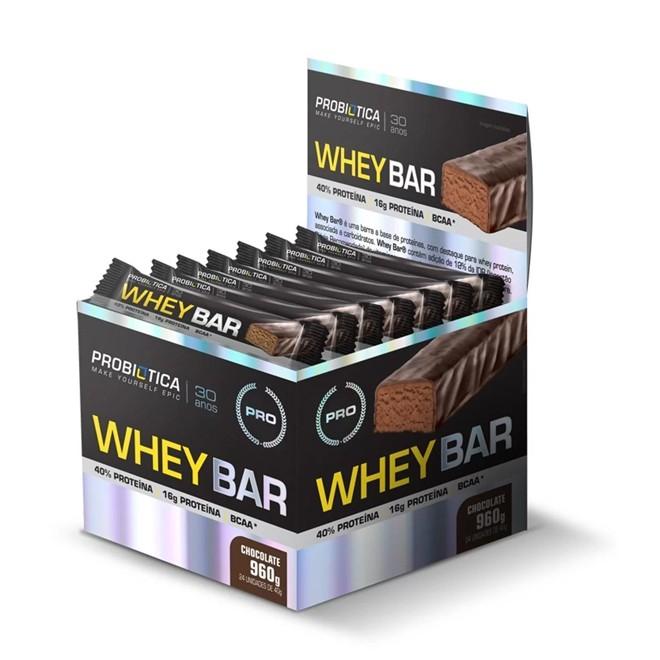 Whey Bar Protein 40g - Próbiotica