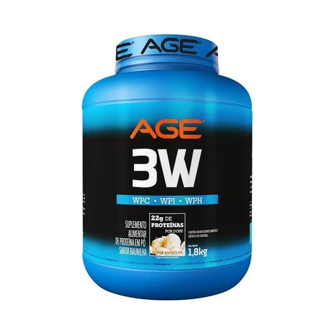 Whey 3W 1,8kg - AGE