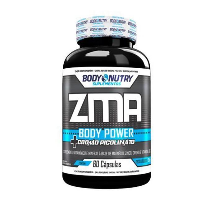 ZMA + Cromo 120 Cápsulas - Body Nutry