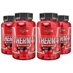 04455a84a Kit 4x Therma Pro Hardcore 60 Cápsulas - Integralmedica