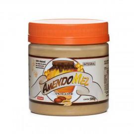 Pasta de Amendoim Crocante (500g) - Amendomel