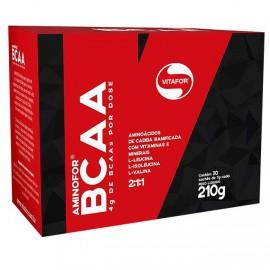 Aminofor BCAA 30 Sachês 210g - Vitafor