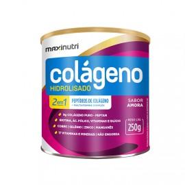 Colágeno Hidrolisado 2 em 1 250g - Maxinutri