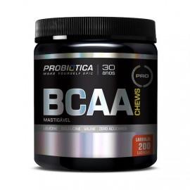 BCAA Chews 200 Tabletes Mastigáveis Laranja - Probiotica