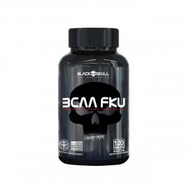 BCAA FKU Hardcore (120 Cápsulas) - Black Skull