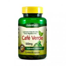 Café Verde 60 Cápsulas - MaxiNutri