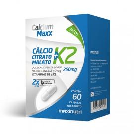 Calcium Maxx + K2 60 Cápsulas - Maxinutri