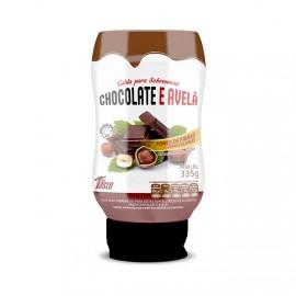 Calda Para Sobremesa Zero Calorias 350g Chocolate c/ Avelã - Mrs Taste