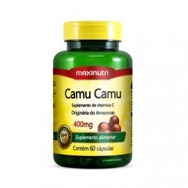 Camu Camu 400mg (60 Cápsulas) - Maxinutri