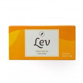 Chá Detox c/ Cafeína (30 Sachês) - Lev