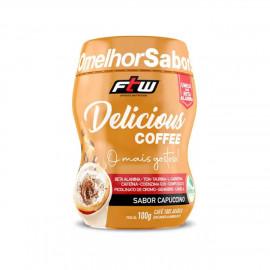 Delicious Coffee 100g Sabor Capuccino - FTW