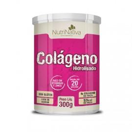 Colágeno Hidrolisado 300g - Nutri Nativa (Flora Nativa)