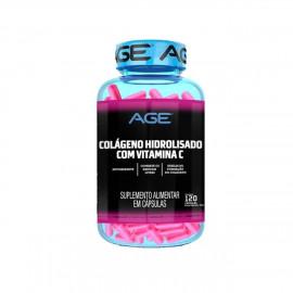 Colágeno Hidrolisado + Vitamina C (120 Cápsulas) - AGE