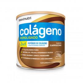 Colágeno Hidrolisado 2 em 1 250g Cappuccino - Maxinutri