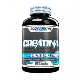Creatina Micronized 100% 120 Cápsulas - Body Nutry