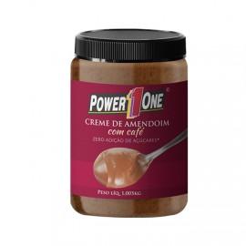Creme de Amendoim c/ Café 1,005kg - Power 1One