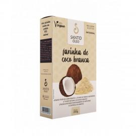 Farinha de Coco Branca (200g) - Santo Óleo