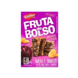 Fruta de Bolso CX c/ 6Und (60g Cada)  - Kobber