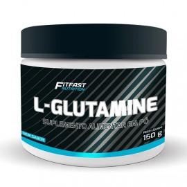 Glutamina Sem Sabor 150g - Fitfast
