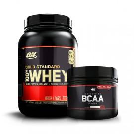 Gold Standard 900g + BCAA Black Line 300g - Optimum Nutrition