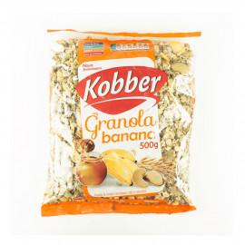 Granola Banana, Mel e Castanhas (500g) - Kobber
