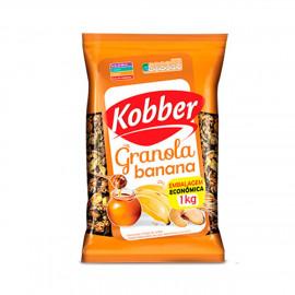 Granola Banana, Mel e Castanhas (1kg) - Kobber