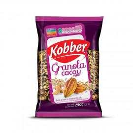 Granola c/ Cacau e Castanhas Light (250g) - Kobber